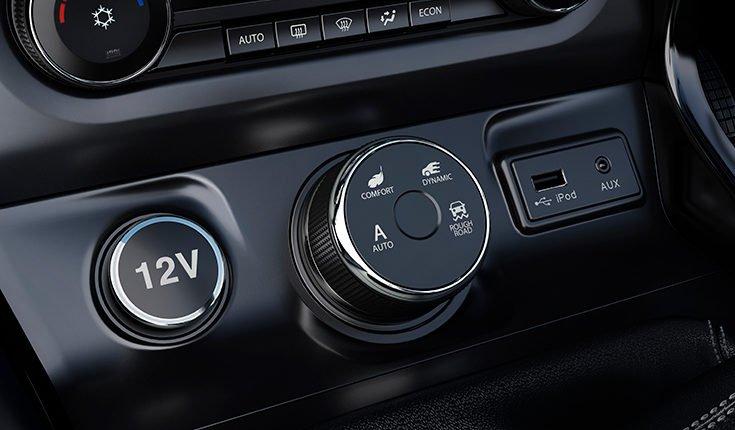 Multi Drive mode in TATA HEXA Manual Transmission variant