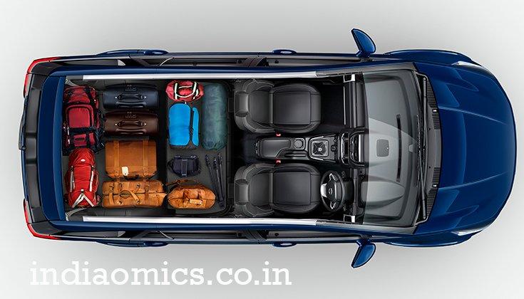 TATA HEXA – Luggage layout