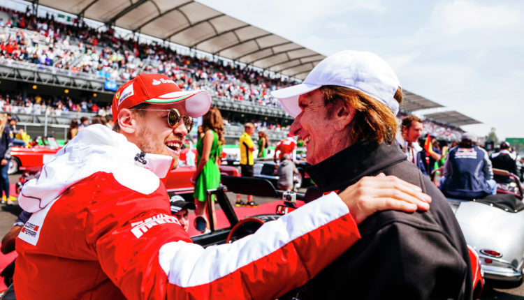 Sebasitan Vettel, GER, Scuderia Ferrari, Mexico GP, Race day