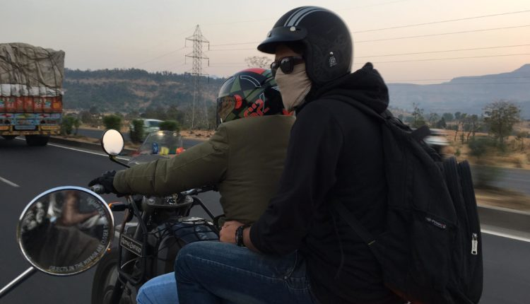 Yeti with Pillion, pictures for the Trip Trailer and Trip Movie