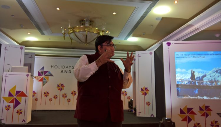 Mr. Peshwa Acharya, CMO for Sterling Holidays, IndiMeet Sterling Holiday Differently