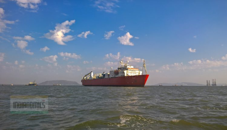 Cable Ship Umm Al Anber (UAE) Off Mumbai Cost
