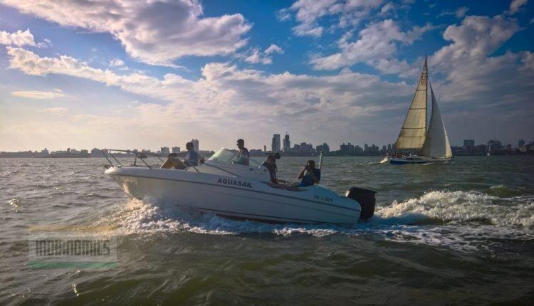 Speedboat with Photographers