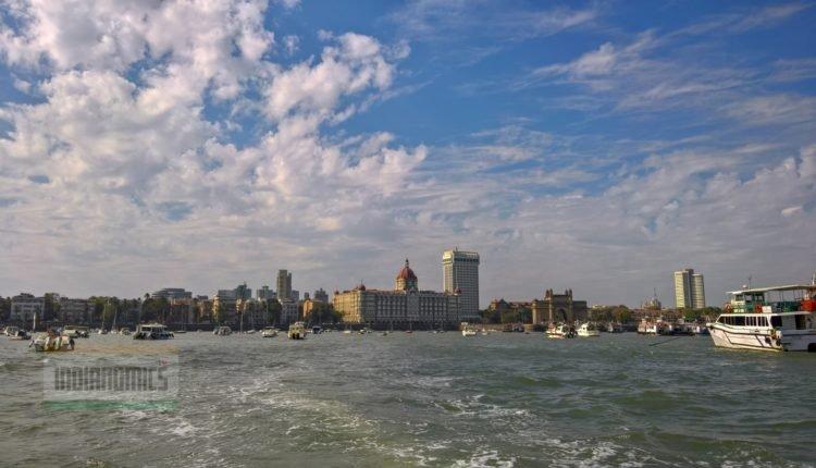 The Sea view of Taj and Gateway