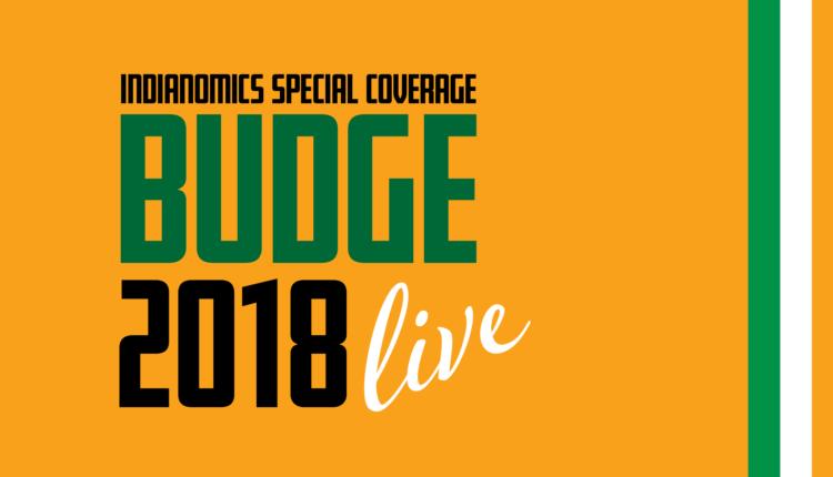 Union Budget 2018 - India's finance