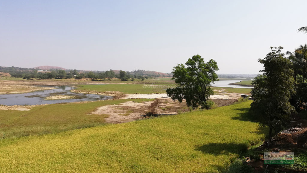 Outside River and Lake View at The Herb Farm, Igatpuri