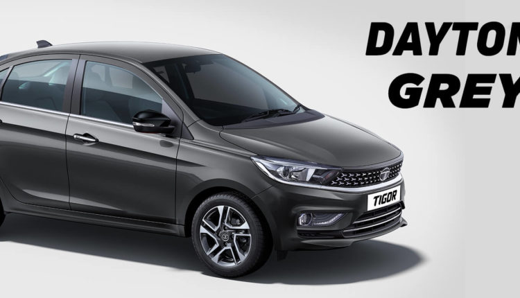 Tata Tigor 2020 Colors - Daytona Grey
