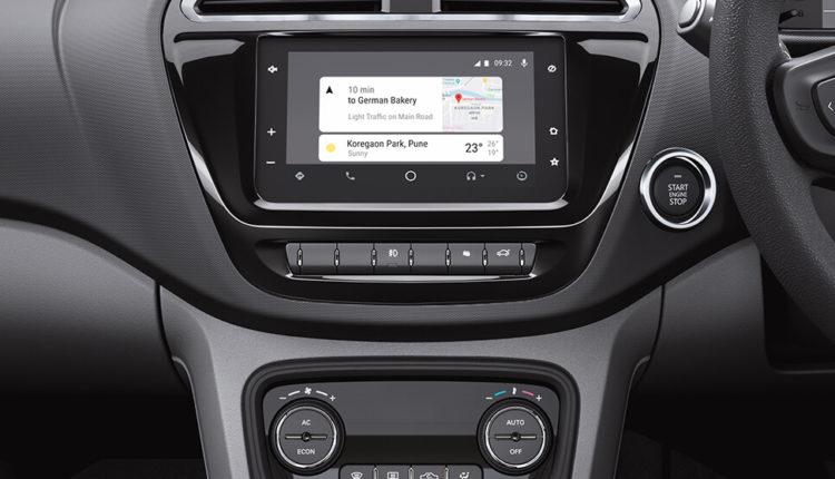 Touch Screen infotainment system - chose Android Auto or Apple Carplay